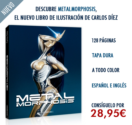 Carlos-Diez_Metalmorphosis_Libro_Book_Ilustraciones_Aerografía_Tecnicas-1