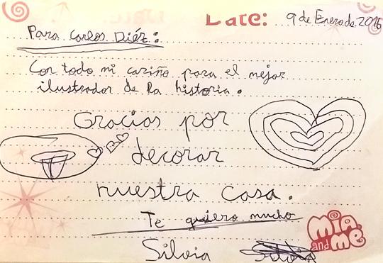 Dedicatoria Carlos Diez
