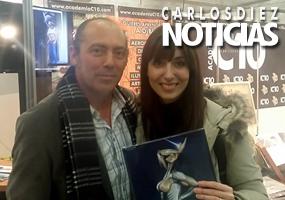 La pintora Vanesa Herrero habla sobre Metalmorphosis, el último libro de Carlos Díez.