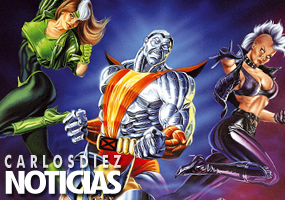 """X-Men. portada realizada para las """"Cronologías X"""""""