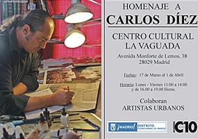 Homenaje a Carlos Díez en el Centro Cultural La Vaguada